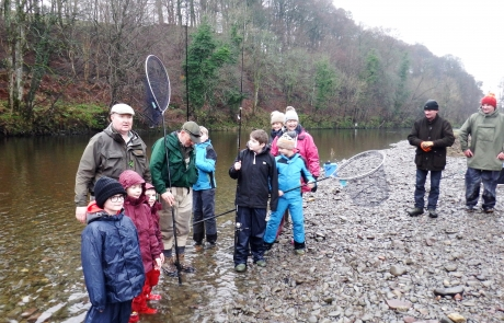 NITH YOUNG ANGLERS CLUB, 18th February 2017.