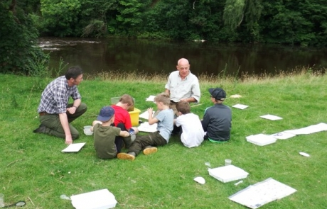 River Eden youth day, July 23rd 2017.
