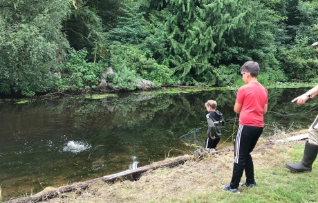 Nith Trust Angling Taster day, 24th July, 2018.