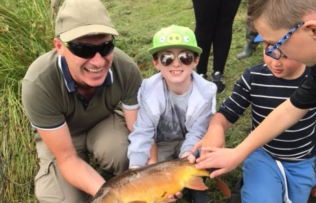 Nith Young Anglers Club, Dunscore Fishery, August 4th 2018.